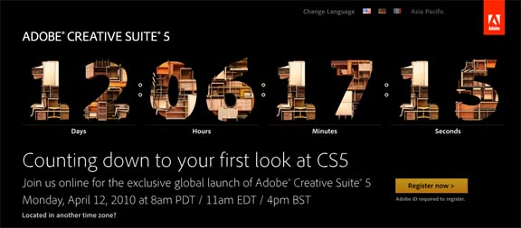 launch photoshop cs5