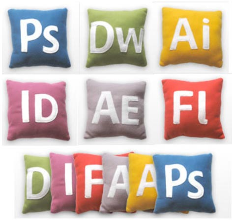 photoshop pillow